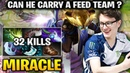 Miracle Riki When you are the Only man In Team that Didn't Feed