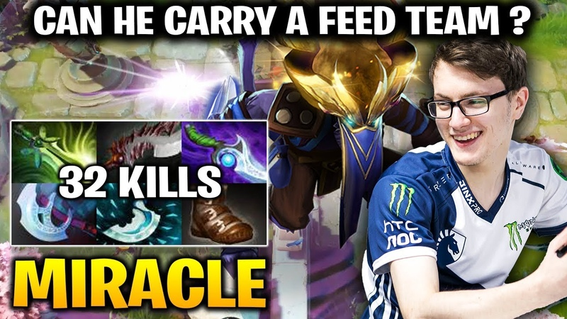 Miracle Riki - When you are the Only man In Team that Didn't Feed