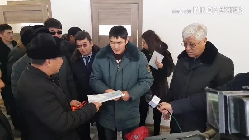 Баталов красавчик! Алматы облысында монша жалдап тұратын көпбалалы отбасыға пәтер берілді.