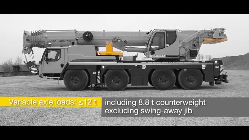 Liebherr - LTM 1090-4.2 Economical all-rounder on four axles
