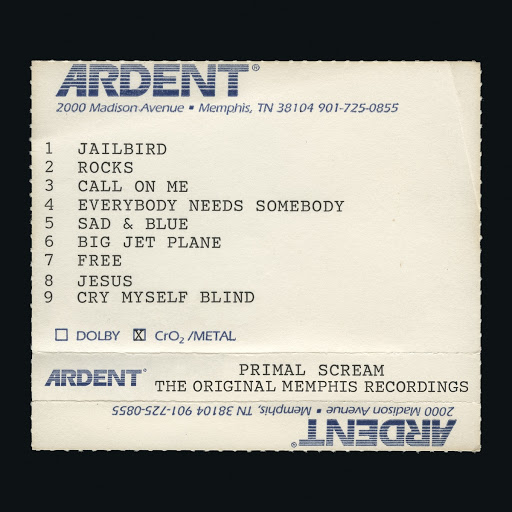 Primal Scream альбом Give Out But Don't Give Up: The Original Memphis Recordings