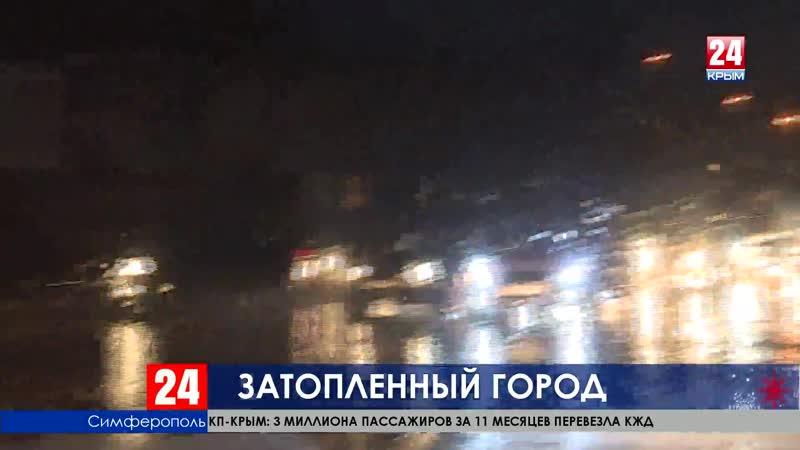 И люки, и ливнёвки. Сергей Аксёнов потребовал полного ремонта дорог Симферополя
