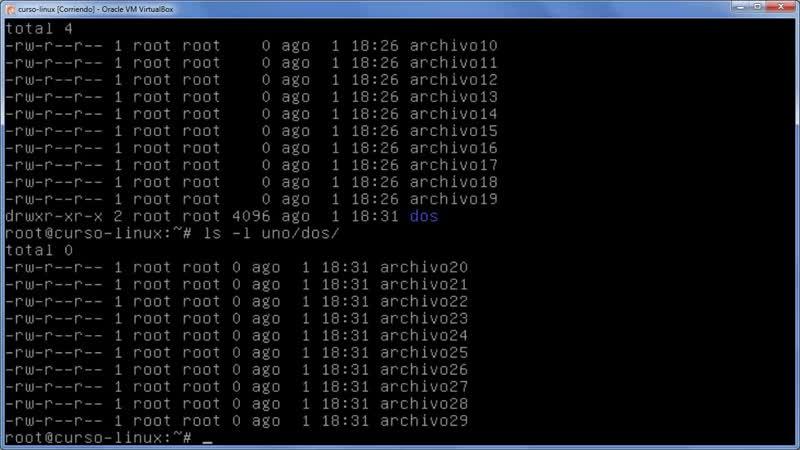 A Linux sin ventanas Lección 23