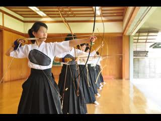 Кюдо. Японские лучники.