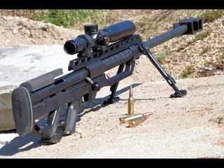 Хабиб стреляет из винтовки