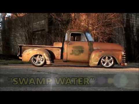 1951 Slammed Patina Hot Rat Street Rod Chevrolet 3100 Truck Swamp Water