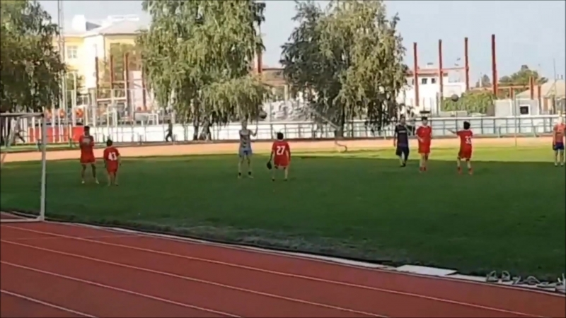 Лиски Тренировочные будни на стадионе Локомотив 2018
