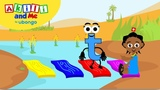 Meet Letter T! Learn the Alphabet with Akili Cartoons from Africa for Preschoolers
