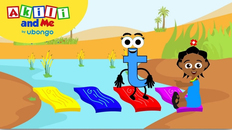 Meet Letter T! | Learn the Alphabet with Akili | Cartoons from Africa for Preschoolers