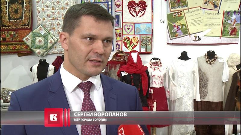 Более 600 работ участников конкурса фестиваля «Город ремесел» выставлены в Вологодском кремле