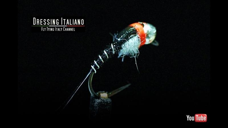 Dressing ninfa NINFA BIANCONERA by Dressing Italiano - Fly Tying Italy
