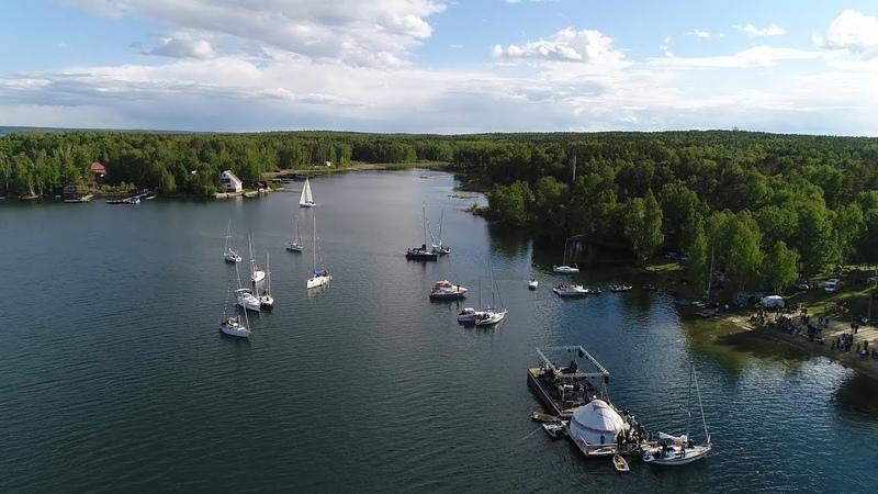 Юбилейный концерт группы Ариэль на озере Увильды 12 июня 2018 г дополненная версия