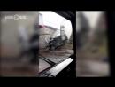 В Казани Гелендваген врезался в опору моста