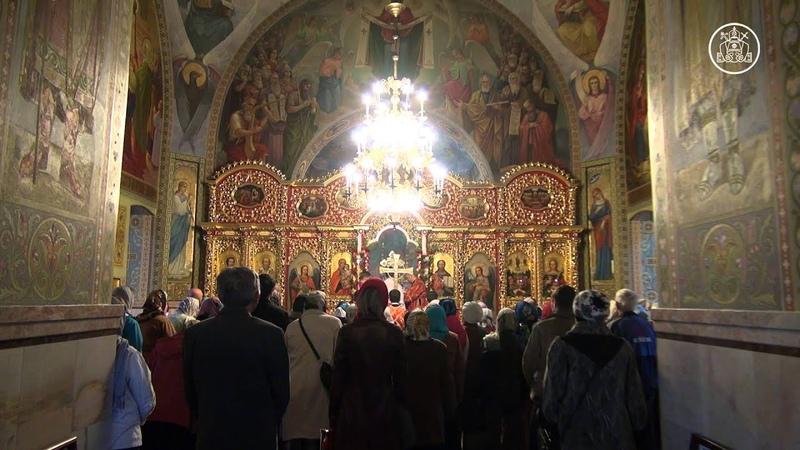 Патріарх Філарет відвідав храм ікони Божої Матері «Живоносне джерело» на Борщагівці