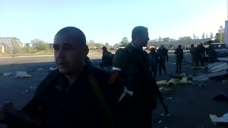 Бои за Донецкий аэропорт видео ополченцев Ополчение Донбасса