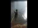 Рей на путом но ещё теплом озере