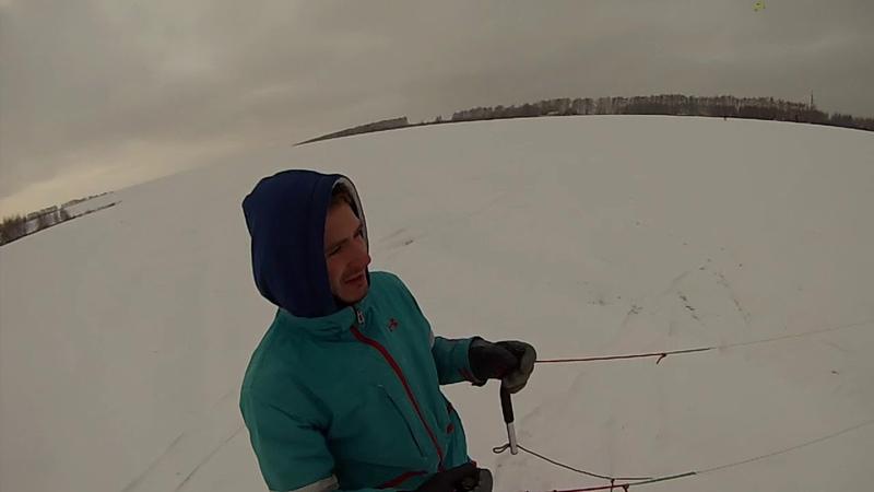Kiting in Nizhny Novgorod
