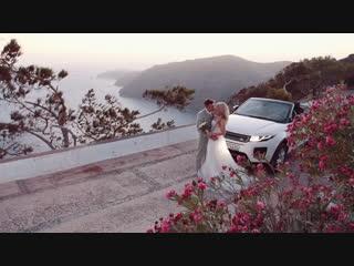 Наша сказочная свадьба на Санторини 💍