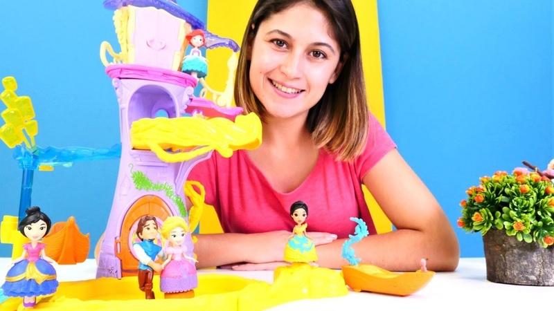 Ayşe prenses Rapunzel doğum günü partisi düzenliyor