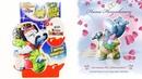 Раритетные КИНДЕР СЮРПРИЗЫ 36 Бегемотики Шоу талантов Happy Hippo Kinder Surprise eggs unboxing