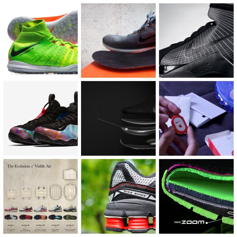 dd408822 Популярные технологии Nike, используемые в кроссовках | ВКонтакте