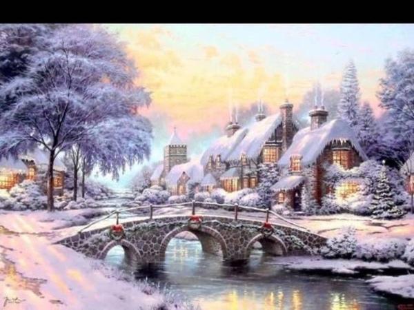 Томас Кинкейд-очень позитивный американский художник- импрессионист.
