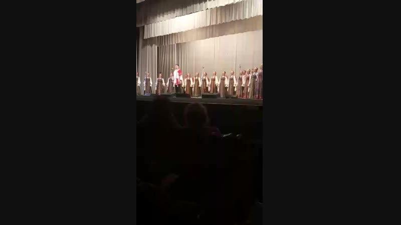 Песня про Рязань Рязанский хор в Кирове