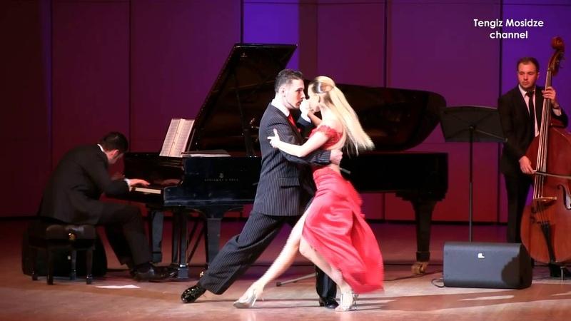 Tango Mala Junta. Anna Gudyno and Kirill Parshakov with Solo Tango Orquesta. Танго 2016.
