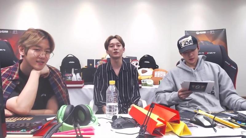 [FULL] 180919 EXO's Baekhyun @ S.M. Super Celeb League