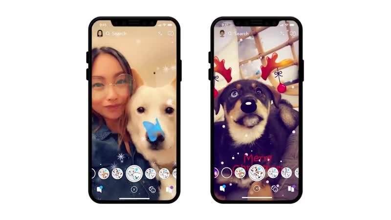 Dog Lenses - Now on Snapchat