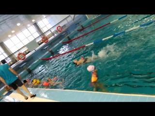 Тренировка по плаванию, СК Ямал г. Муравленко, сентябрь 2018.