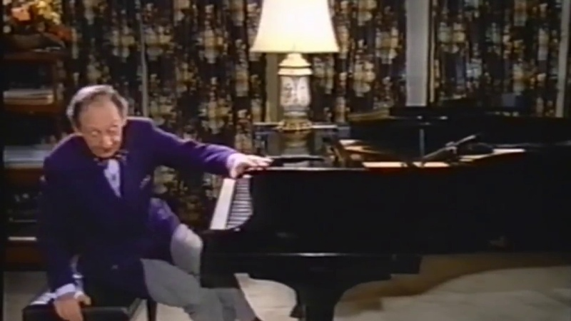 Vladimir Horowitz - Chopin Introduction and Rondo in E-flat major, op. 16 (New York, 1974)