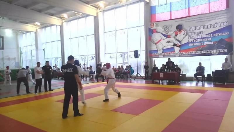 4 бой- финал