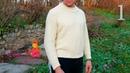 ИДЕАЛЬНЫЙ МУЖСКОЙ СВИТЕР. Бесплатный мастер класс по вязанию Простой свитер