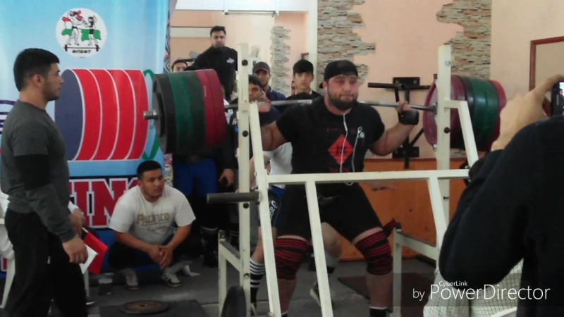 New record@ of the Republic of Tajikistan in Raw sguat 380kg rajabov shokirjon powrlifting
