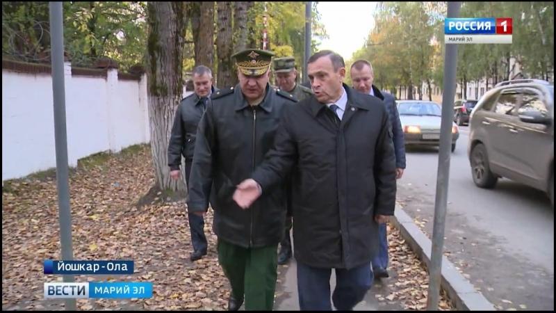 Глава Марий Эл познакомился с работой йошкар-олинского военного госпиталя