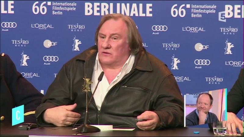 Mathieu Sapin sa rencontre avec Gérard Depardieu - C lhebdo - 18032017
