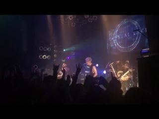 Crystal Lake - The Circle (feat. Masato of Coldrain) Live at Ritual Of The Circle, Tsutaya O-West (03.09.2018)