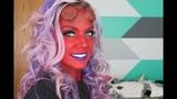 Hellboy Hellgirl Halloween Makeup Tutorial