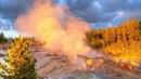 И снова Йеллоустоун Прогнозы меняются из за извержения гейзера Параход Steamboat Geyser