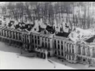 Царское Село после освобождения от фашистов 1944 г