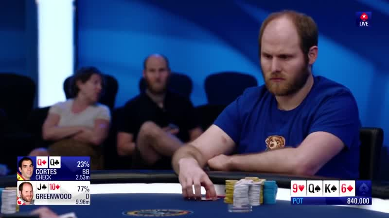 FANTASTIC FLOP - Straight vs Three of a Kind on Final Table $100K PCA-2019