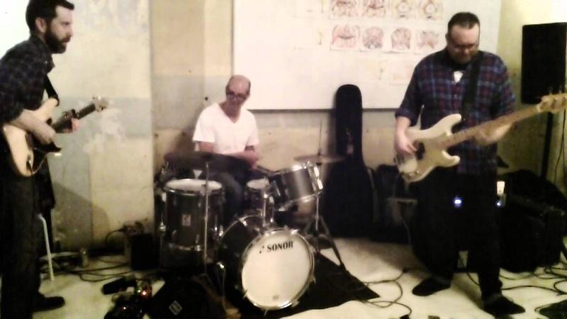Kevin Scott trio @eyedrum 2015-04-27