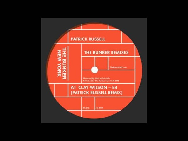 Clay Wilson - E4 (Patrick Russell Remix)