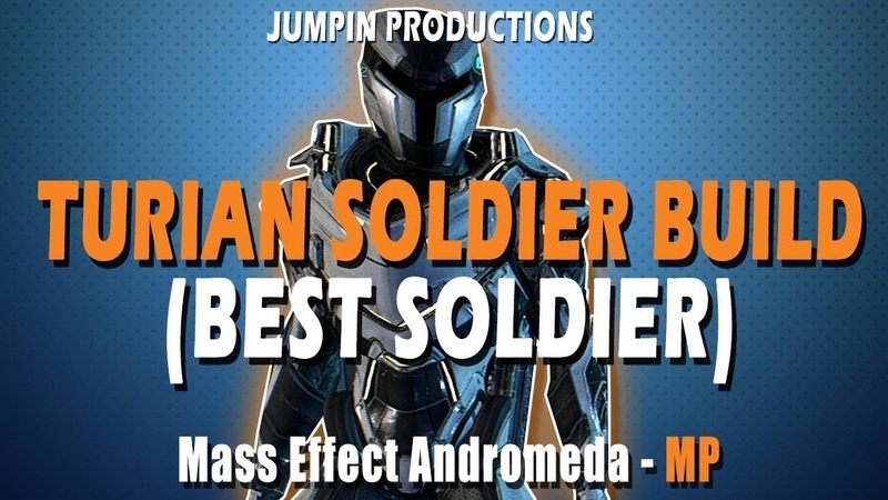 Turian Soldier Gold SOLO Mass Effect Andromeda Multiplayer BUILD and GUIDE