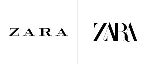 5ba2b4a7a98 Сеть магазинов одежды Zara обновила логотип