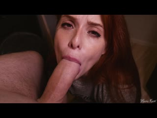 Maru karv - [pornhubpremium] - redhead girlfriend the best blowjob ever and then swallow all my cumshot - 1080p