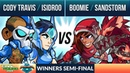Cody Travis Isidroo vs Boomie Sandstorm Winners Semi Final Final Round 2v2