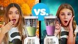 MAKING SLIME IN A BLENDER (Halloween Slime vs Fall Slime)🍂🎃| Piper Rockelle