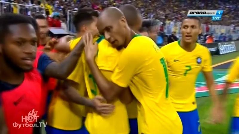 16.10.2018 Brazil 1-0 Argentina. Friendly Match Highlights HD